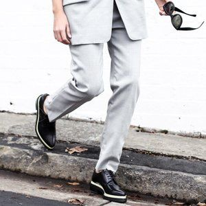 Acne Studios snakeskin derby Acne shoes brogues